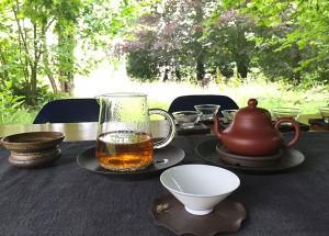 Colloque sur le thé en plein air