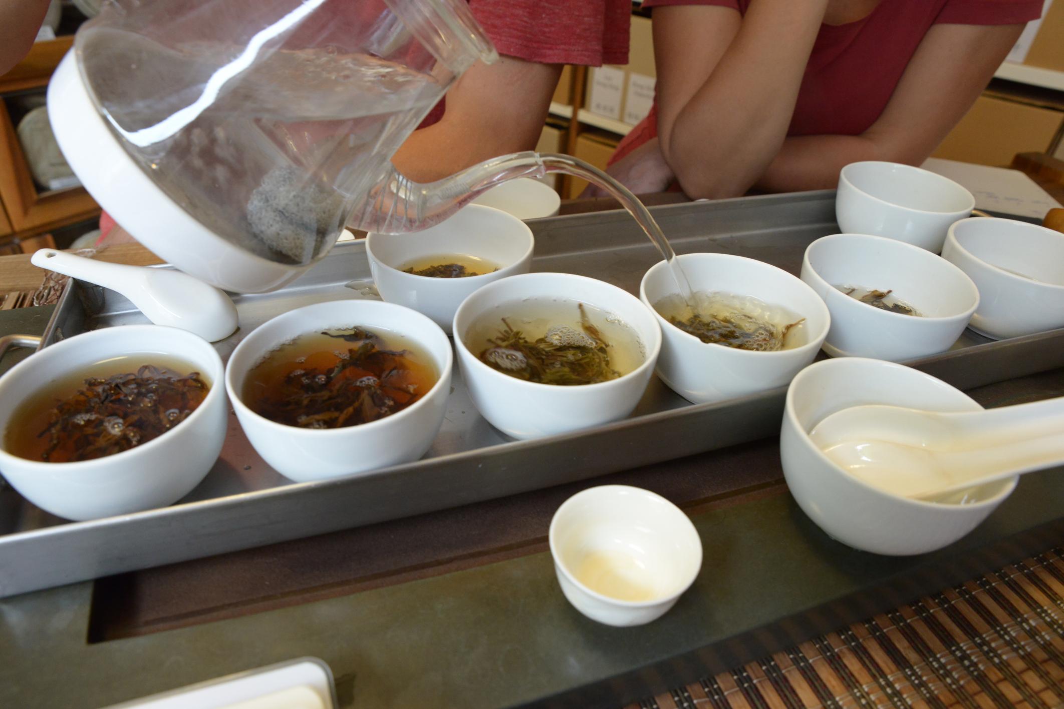 6 familles de thé chinois et leur préparation
