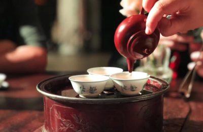 Un jardin qui se promène en bouche ⁃Feng Huang Dan Cong