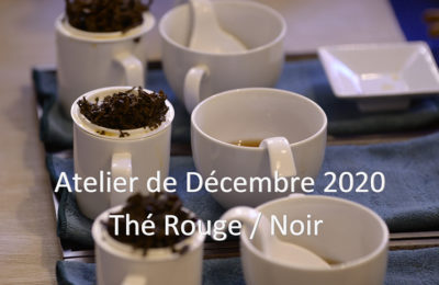 Décembre : Thé rouge / noir – Hong Cha 红茶