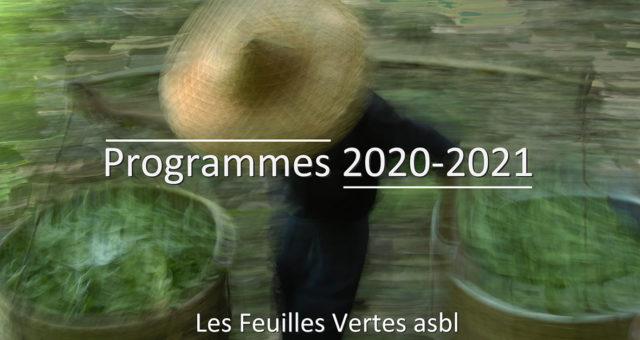 Nouvelle programmation 2020-2021